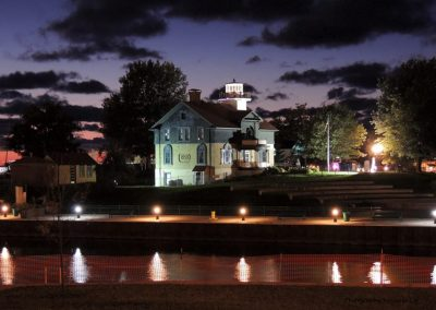 Lighthouse museum at night used 1-12-15